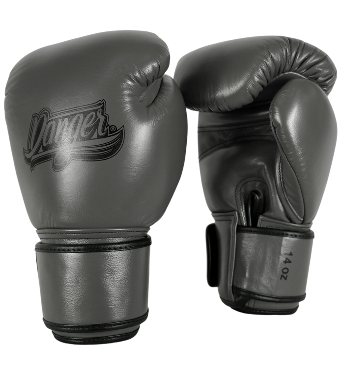 Boxing gloves thai legend for muay thai and boxing DEBGTL-003-SL-8-GRY