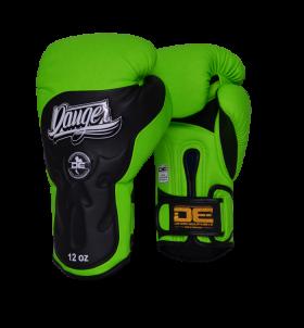 Boxing Gloves Ultimate Fighter for maximum safety DEBGUF-010-SL-10-N.GRN/BK