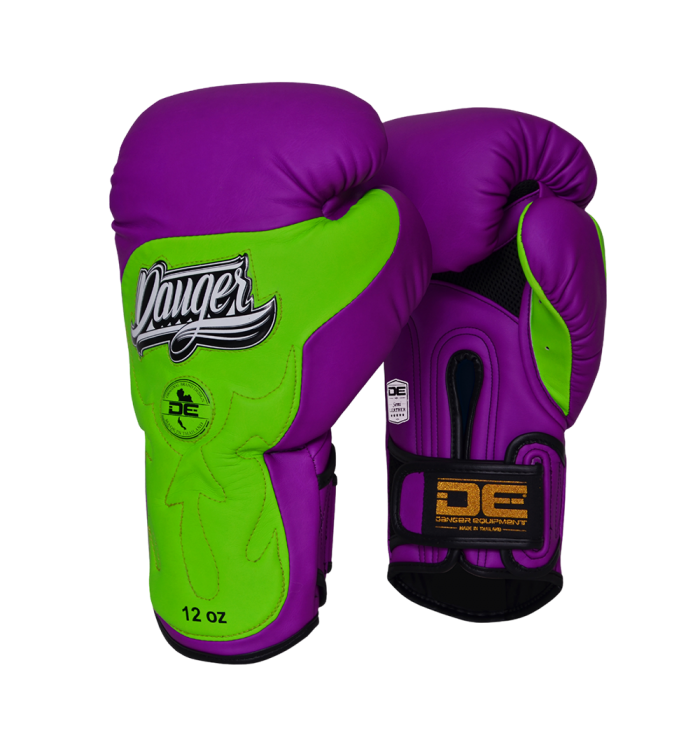 Boxing Gloves Ultimate Fighter for maximum safety DEBGUF-010-SL-10-PU/N.GRN