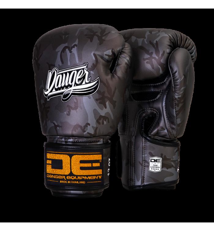 Signature Gloves Army Edition  semi-leather DEBG-007AR-AR.GRY-SL-8