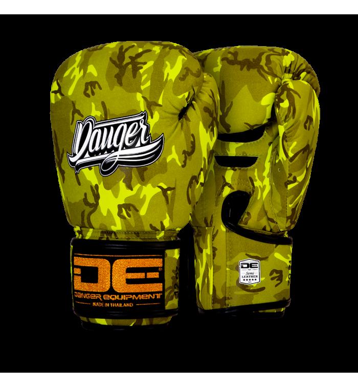Signature Gloves Army Edition  semi-leather DEBG-007AR-AR.YW-SL-8