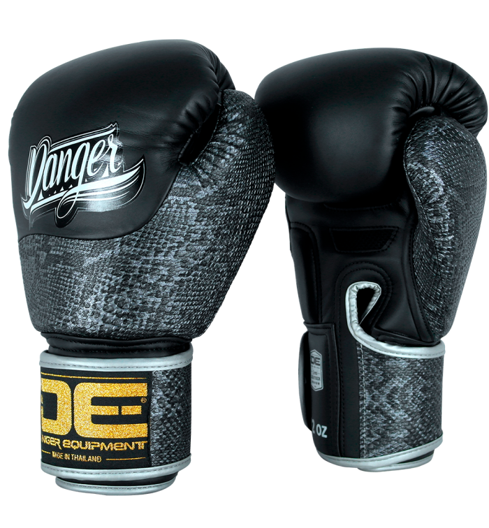 Boxing gloves python line from danger DEBGEV-008PY-SL-8-BK/SV