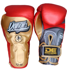 Signature Gloves UF Premium from danger boxing DEBG-010UFP-GRY/RD/GD-SL-12