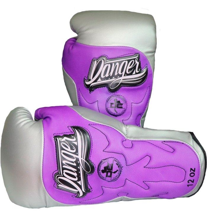 Signature Gloves UF Premium from danger boxing DEBG-010UFP-M.GRY/PU-SL-10