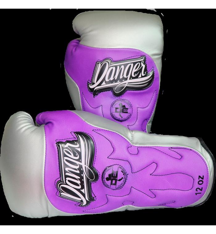 Signature Gloves UF Premium from danger boxing DEBG-010UFP-M.GRY/PU-SL-10