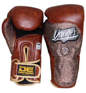 Signature Gloves UF Premium from danger boxing DEBG-010UFP-V.BRW/P.BRW-SL-10