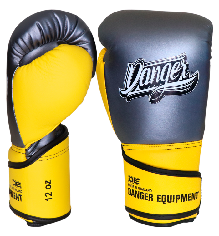 Avatar boxing gloves with protection for hard punches DEBGAV-012-VL-SL-12-GRY/YW