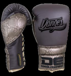 Boxing Gloves avatar lacer for hard punchers  DEBGAV-012-LC-SL-12-VTG/BRW.PY