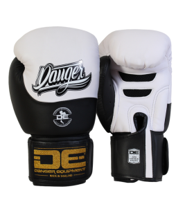 Boxing Gloves Evolution Black Wrist from danger DEBGEV-008-SL-8-WH/BK