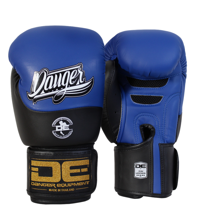 Boxing Gloves Evolution Black Wrist from danger DEBGEV-008-GL-8-BU/BK