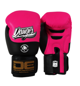 Boxing Gloves Evolution Black Wrist from danger DEBGEV-008-SL-8-PK/BK