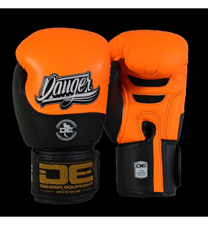 Boxing Gloves Evolution Black Wrist from danger DEBGEV-008-SL-8-OR/BK