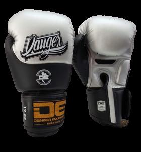 Boxing Gloves Evolution Black Wrist from danger DEBGEV-008-SL-8-SV/BK