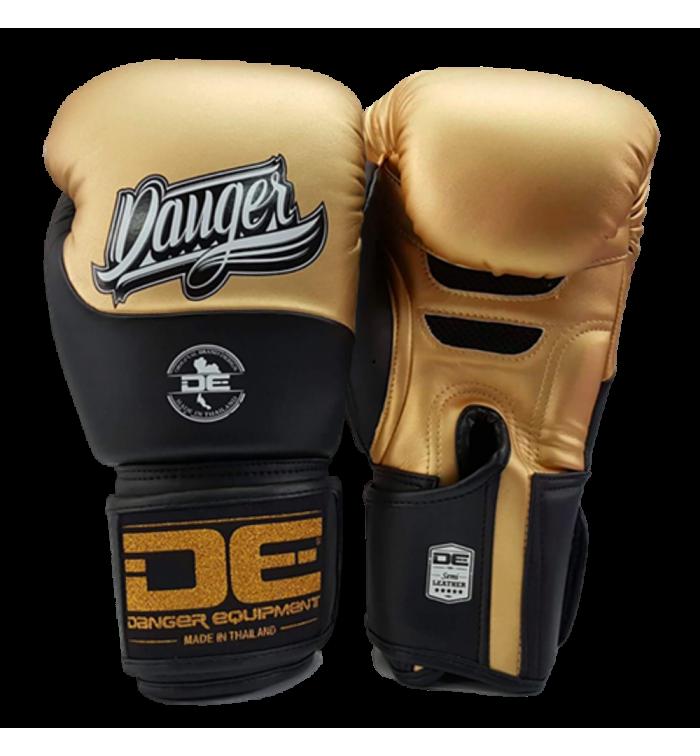 Boxing Gloves Evolution Black Wrist from danger DEBGEV-008-SL-8-GD/BK