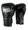 Boxing Gloves Mexican Pride Laces in leather o semileather DEBGMX-002-2.0-LC-GL-10-BK