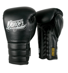 Boxing Gloves Mexican Pride Laces in leather o semileather DEBGMX-002-2.0-LC-SL-10-BK