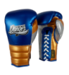 Boxing Gloves Mexican Pride Laces in leather o semileather DEBGMX-002-2.0-LC-SL-10-MT.BU/MT.GD/MT.SV