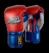 Boxing Gloves Mexican Pride Velcro handmade in Thailand DEBGMX-002-2.0-VL-SL-10-MT.RD/MT.BU/MT.SV