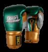 Boxing Gloves Mexican Pride Velcro handmade in Thailand DEBGMX-002-2.0-VL-SL-10-MT.GRN/MT.GD/MT.SV